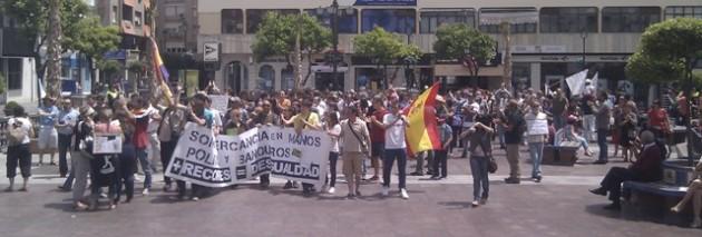 Indignados en Algeciras (12M-15M)